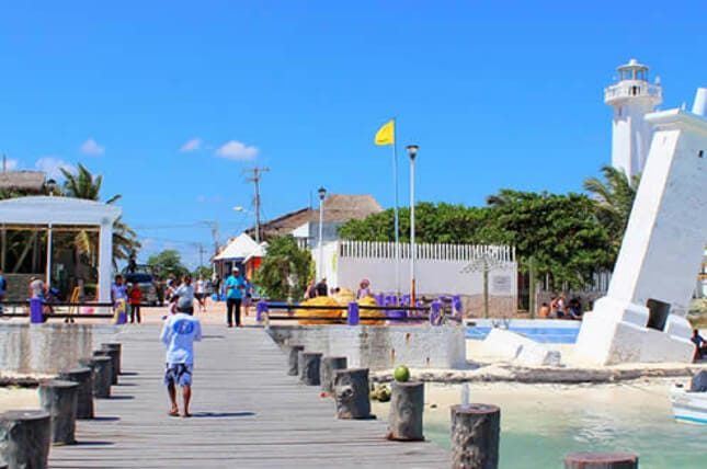 Malecón de Puerto Morelos