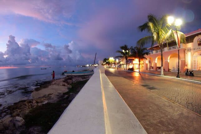 Malecón de Cozumel